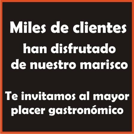 Clientes de Marisco Gallego
